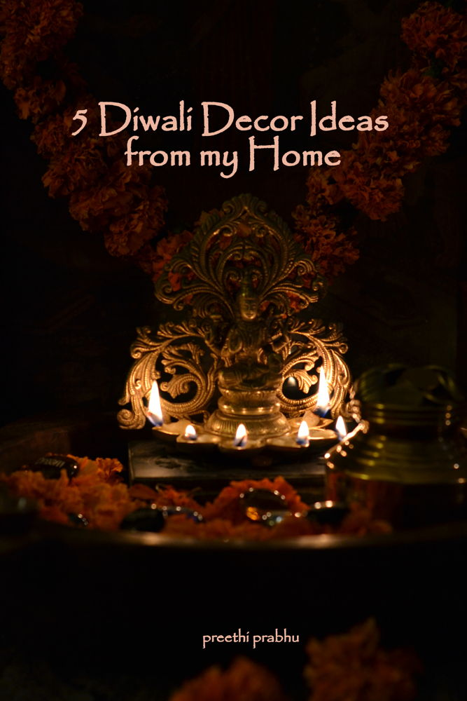 Diwali Decor Ideas from my home