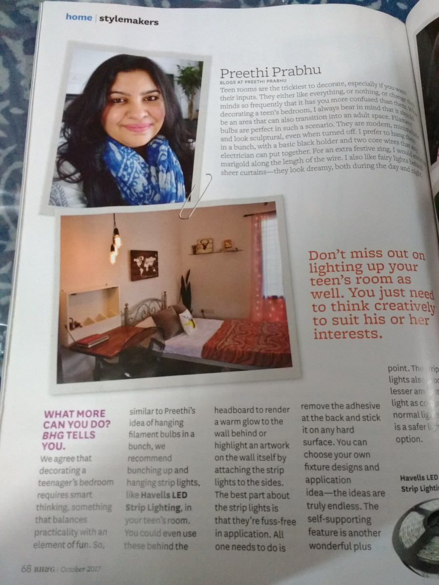 The Better Homes and Garden Magazine Feature