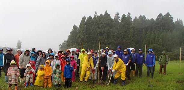 《全國植樹祭関連事業》未來へつなぐ森づくりin柏崎「第11回柏崎刈羽地域植樹祭」開催 - 新潟県ホームページ