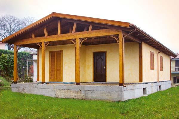 Orvi  Roma  Case prefabbricate in legno