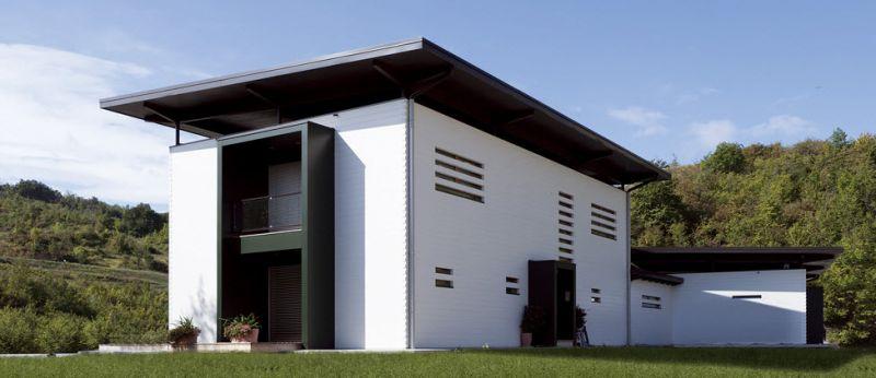 Rubner Haus  Bolzano Chienes  Case prefabbricate in legno