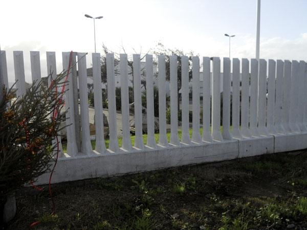 stunning recinzione industriale in cemento with recinzioni in muratura per ville