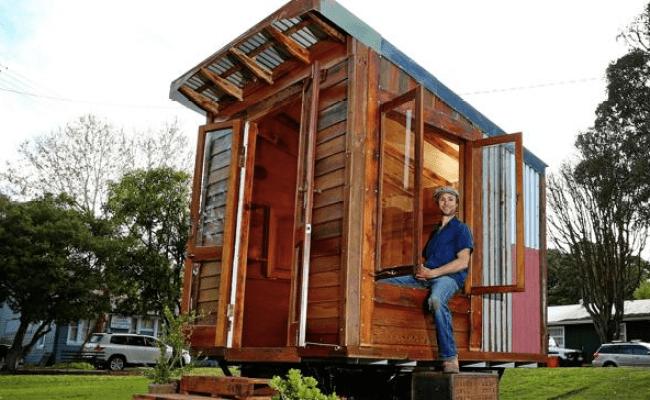 A Sydney Una Tiny House Al 95 Costruita Con Materiali