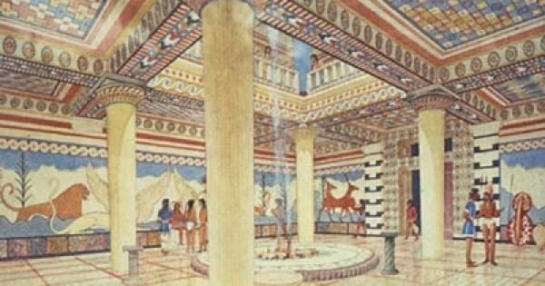 Storia dellabitazione  Creta e Micene