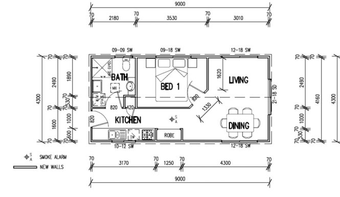 43 Best Images About House Plans On Pinterest Retirement One Bedroom And Small Guest Houses