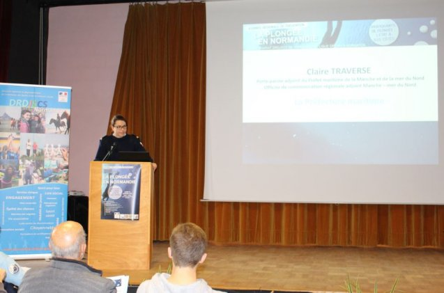 Salle comble pour la journe rgionale de prvention des accidents de plonge en Normandie  La