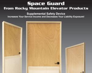 Space Guards Preferred Elevator