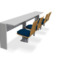 Ergonomic Chair Request Letter Hanging Metal Frame 7000x Lecture Room Seating | Preferred-seating.com
