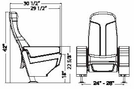 ergonomic chair request letter heavy duty lawn chairs folding medallion plus theater seating | preferred auditorium seats