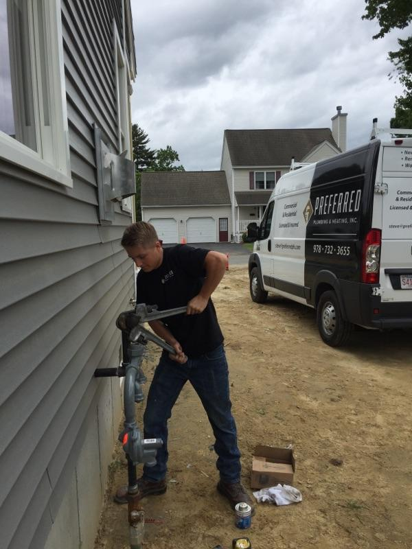 Gas Line Installation MA