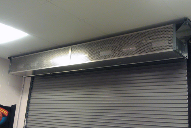 air curtain preferred window and door