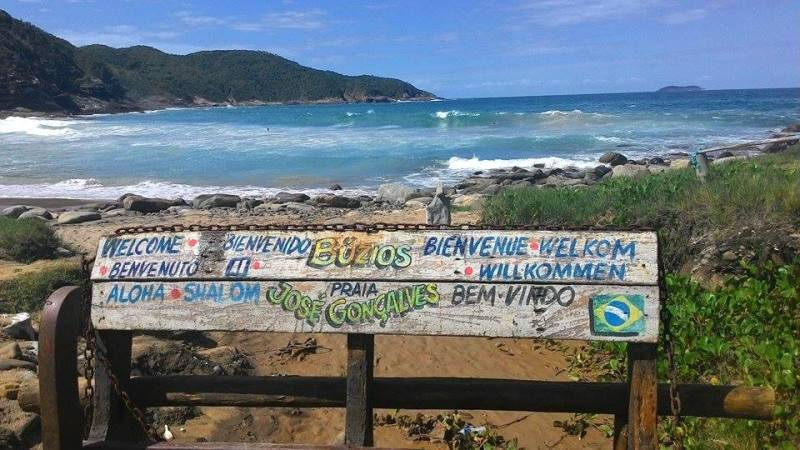 Resultado de imagem para Praia José Gonçalves