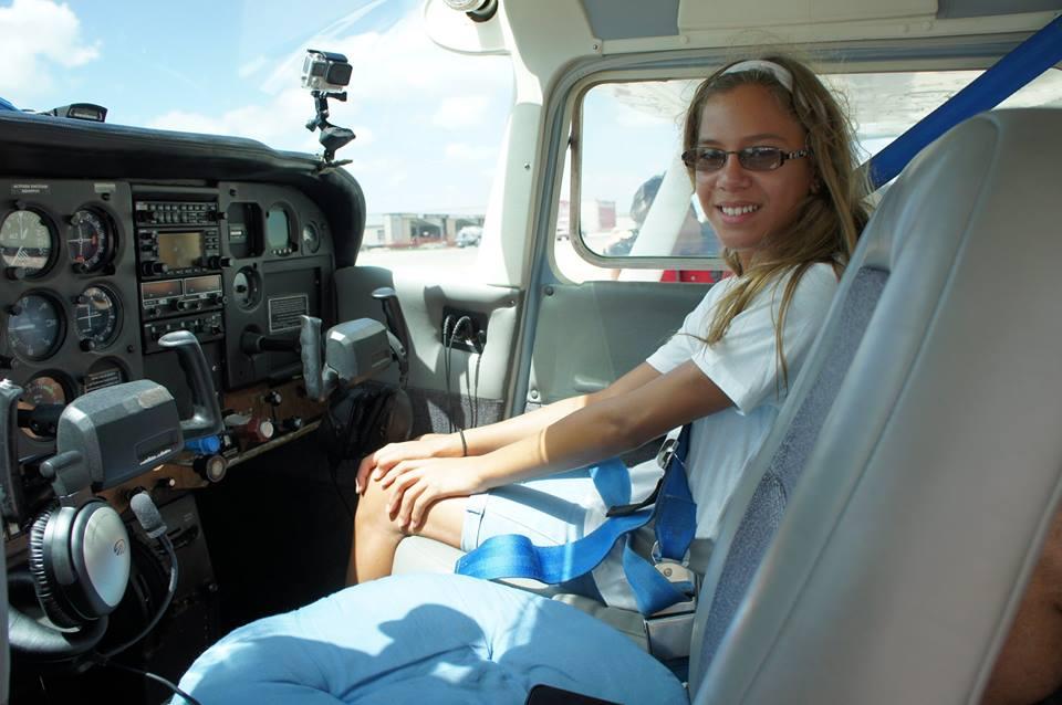 Sitting in a plane