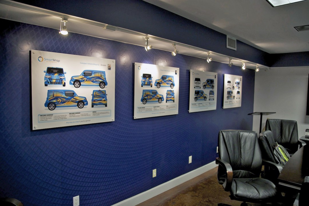 vehicle-wrapping-company-branding-in-deer-valley-arizona-of-conference-room-and-wall-graphics-for-brand-photographer-west-phoenix