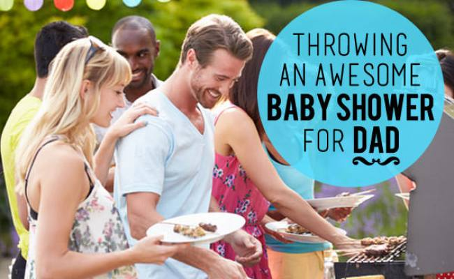 Throwing An Awesome Baby Shower For Dad