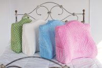Moms Essentials Back Buddy Support Pillow and slipcover