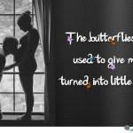 butterflies pregnancy quote