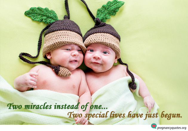 pregnancy quote twins