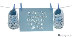 List of baby boy congratulations messages for the perfect gift card