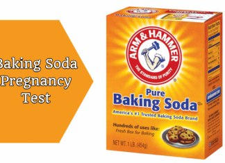 Baking Soda Pregnancy Test