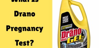 Drano Pregnancy Test