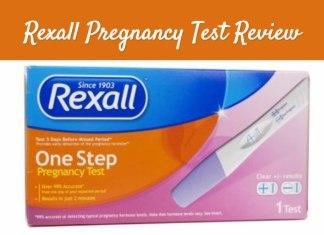 Rexall pregnancy test