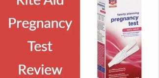 Rite Aid Pregnancy Test