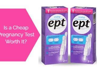 Cheap pregnancy test