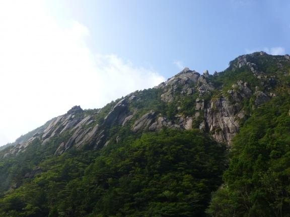 The Mae-one, where our friends where climbing