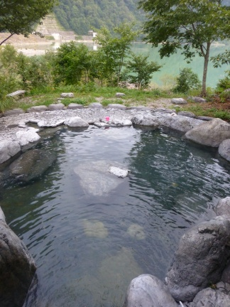 This Onsen features only a rotenburo, but I anyway I am only interested in rotenburos ;-)