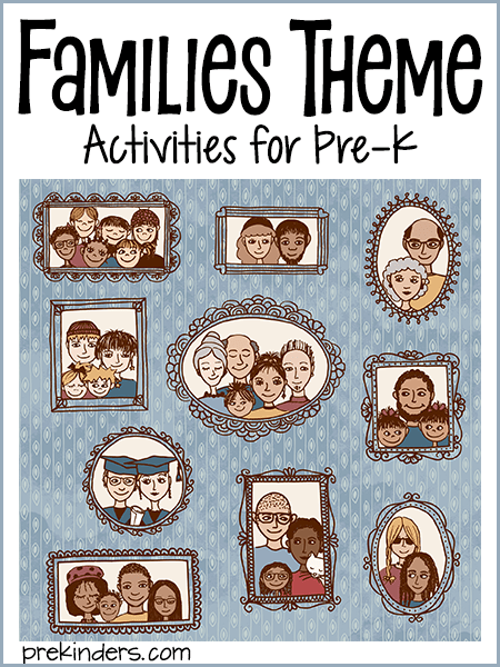 families theme prekinders