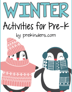 Winter preschool theme also prekinders rh