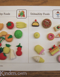 Food classification activity also printable prekinders rh