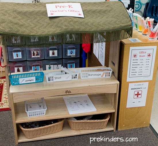 Doctors Office Dramatic Play for Kids  PreKinders