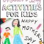 Mother S Day Activities For Kids Prekinders