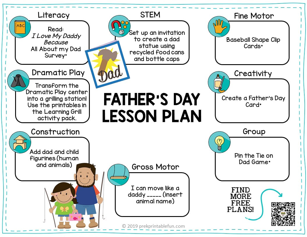 Preschool Father S Day Theme