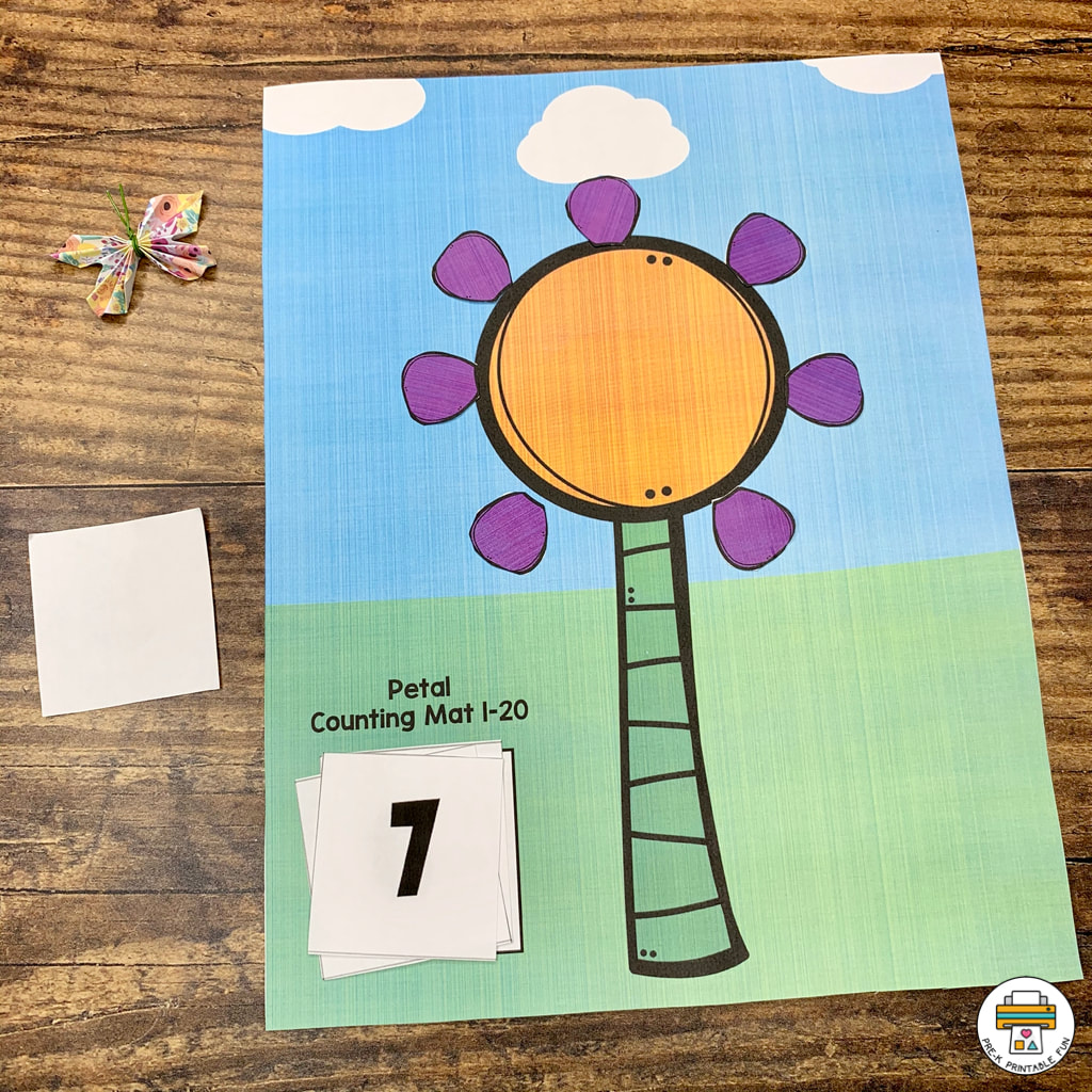 Flowers And Bees Activity Pack