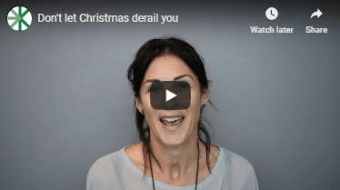 Don't let Christmas derail you