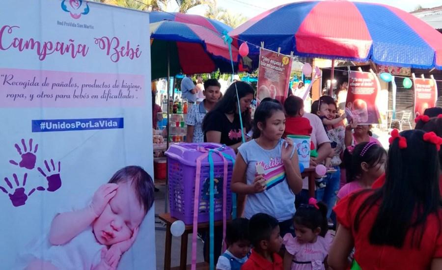 Red Provida San Martín lanza Campaña Bebé