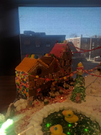 Gingerbread Row Houses