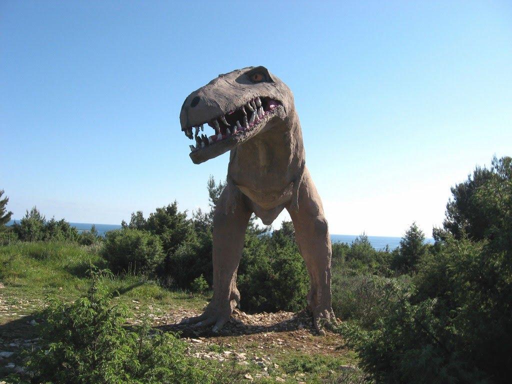 The Dinosaur Path on Kamenjak  Premantura