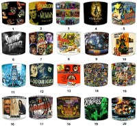 Vintage Horror Movie Film Posters Lampshades Ceiling ...