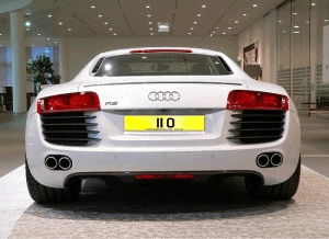 Personalised Number Plate