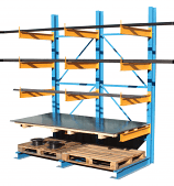 Cantilever Racking - 12 x 1000mm Arms