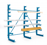 Cantilever Rack Tapered Arms - Single Sided