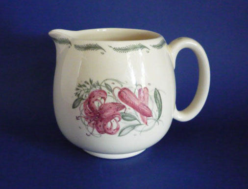 Susie Cooper Crown Works Pottery Tiger Lily Jug c1945