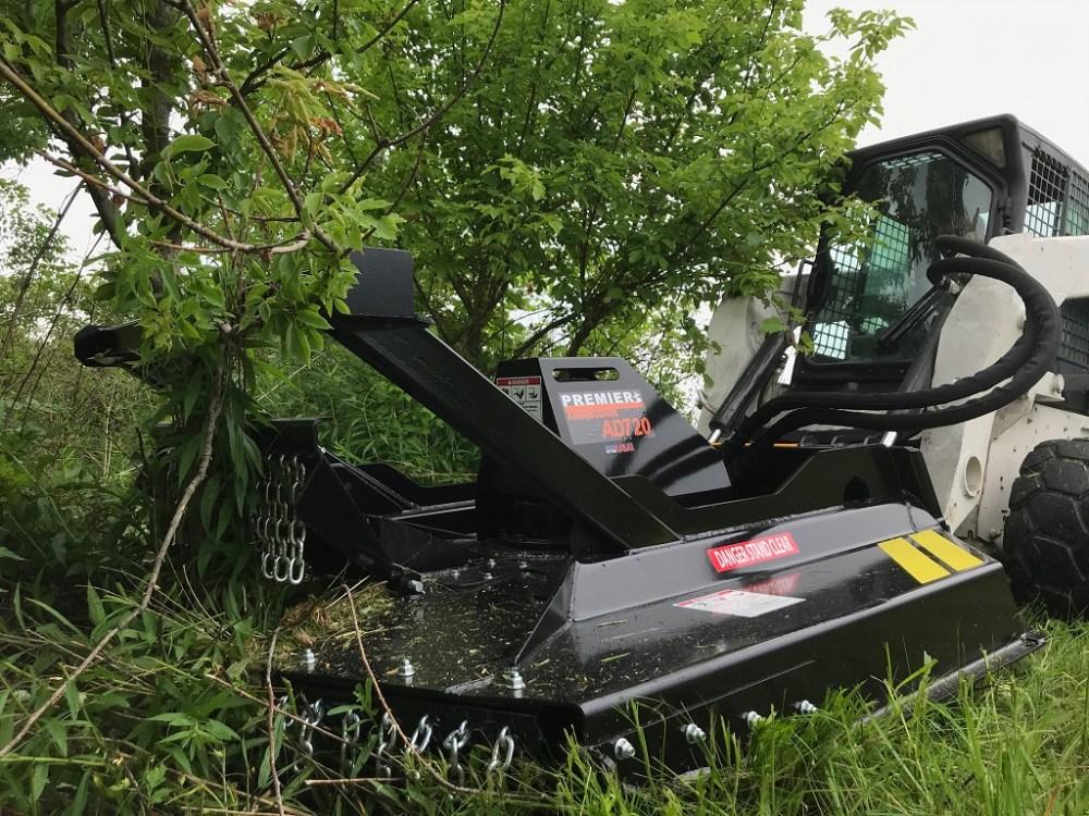 medium resolution of heavy duty skid steer brush cutter