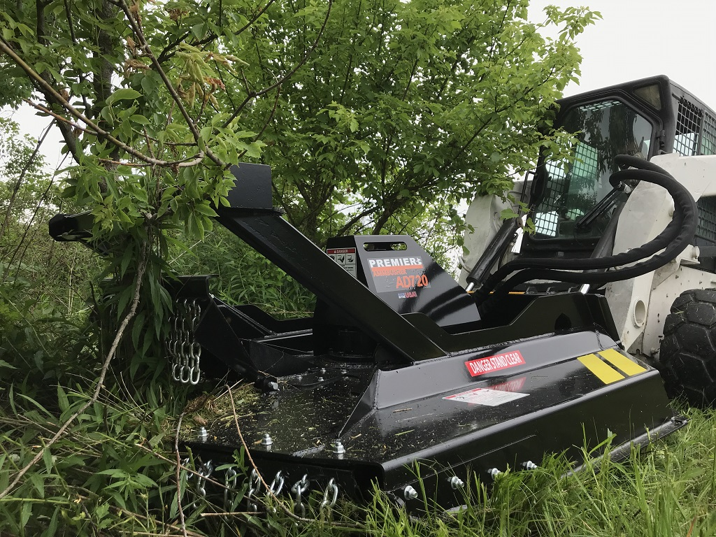 hight resolution of heavy duty skid steer brush cutter