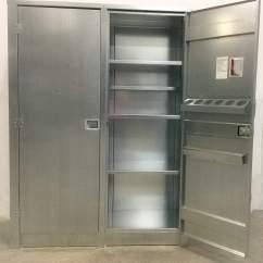 Tall Kitchen Bin Cabinet Refacing Good Looking Storage Closet Metal | Home Decor