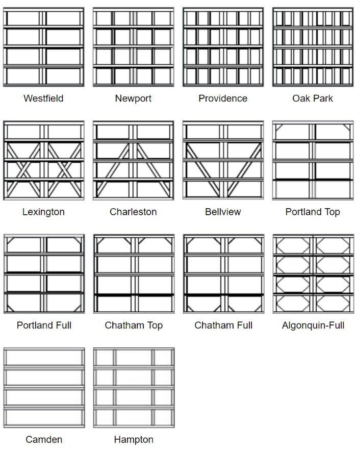 Wayne Dalton 9700, Carriage House Garage Doors, Oakville
